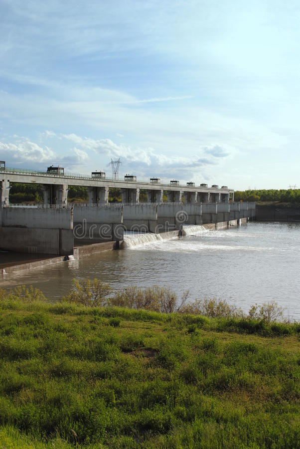 Free Hydroelectric Dam Royalty Free Stock Photos - 24524458