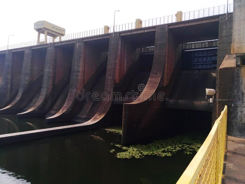 hydroelektrisch lizenzfreies stockfoto