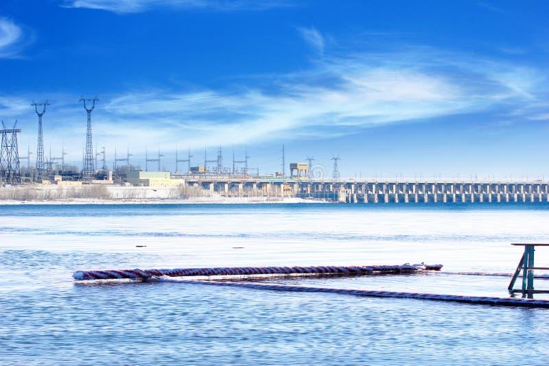hydroelektrisch stockbild