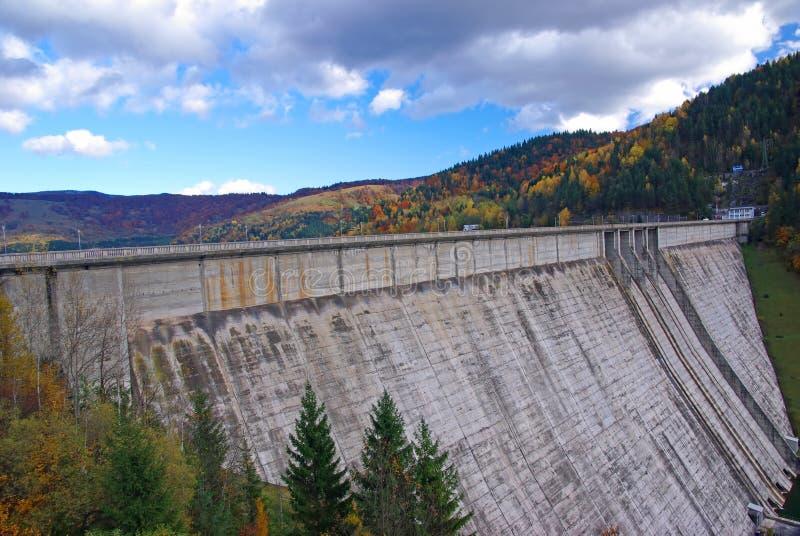 Hydroelektrische Verdammung lizenzfreies stockbild