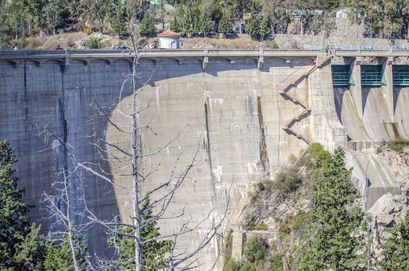 hydroelektrisk fördämning royaltyfri fotografi