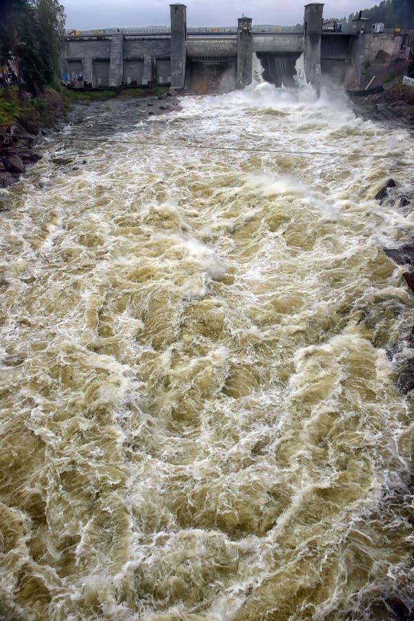Download Hydroelektrisk Imatraströmstation Arkivfoto - Bild av green, sommar: 76702136