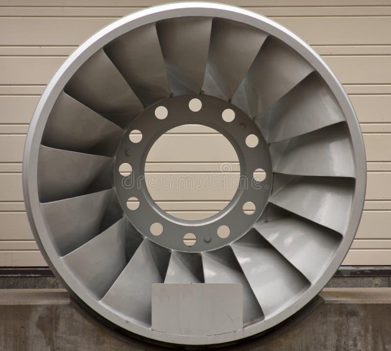 hydroelektrisk turbin arkivbilder