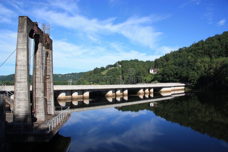 Hydroelektrizität, stützbare Energie stockfoto