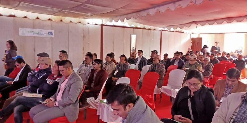 Hydroexpo 2074 in Nepal stock fotografie