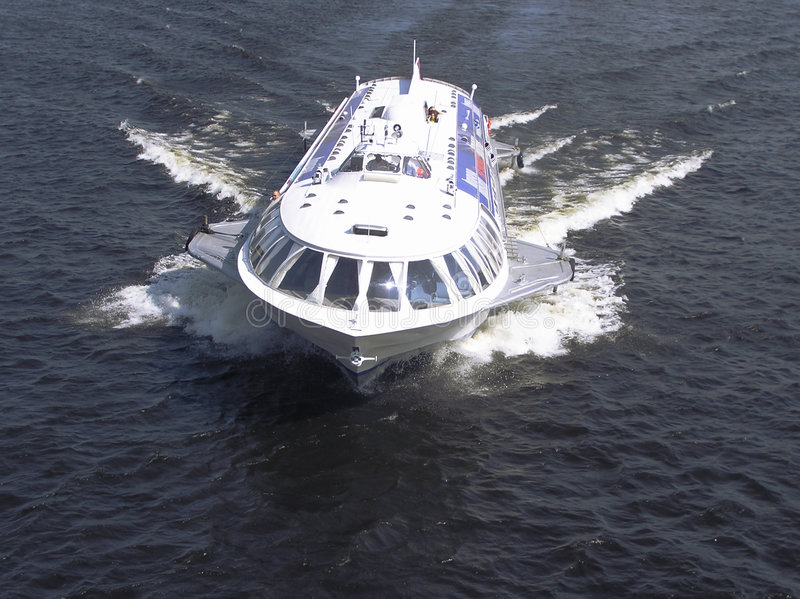 hydrofoil łodzi obrazy stock