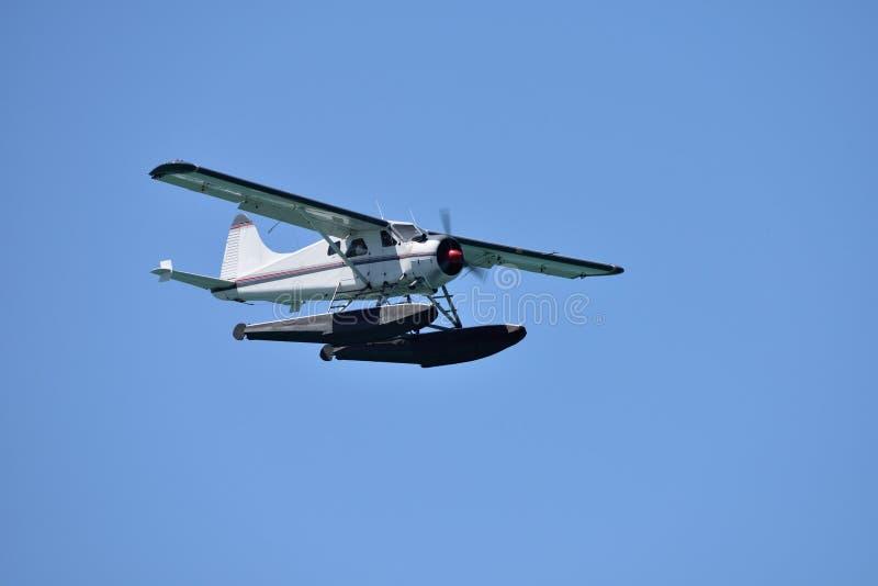 Hydroplan w locie zdjęcia stock