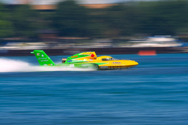 Hydroplane illimité image libre de droits