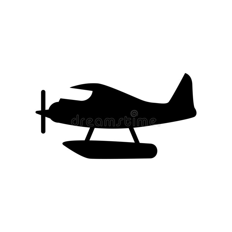 Hydroplane pictogram  stock illustratie