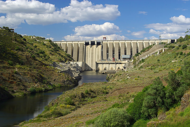 Download Hydropower Plant 02 Stock Photography - Image: 5504642