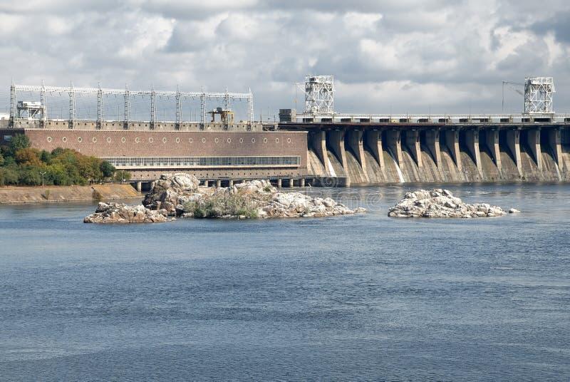 hydropowerväxt arkivfoto