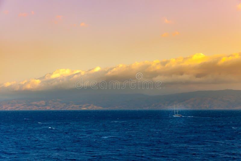 Hydry wyspa fotografia stock