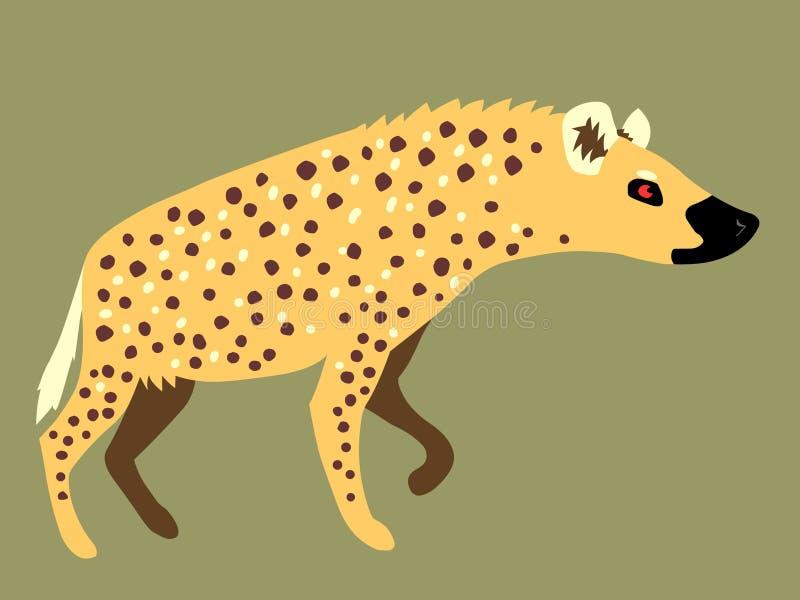 hyena stock illustrationer