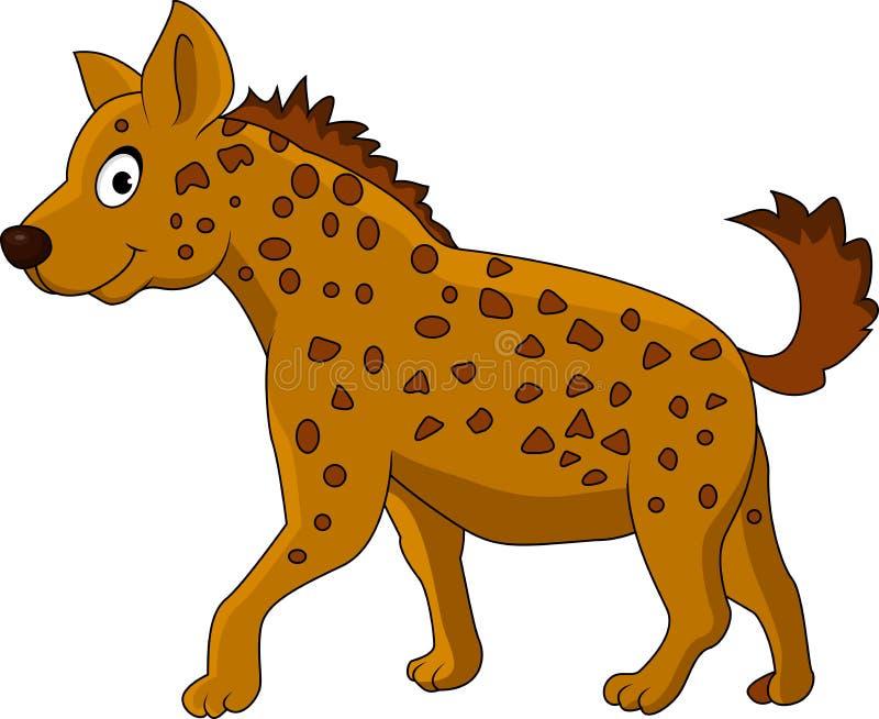 Hyena ccartoon royalty-vrije illustratie