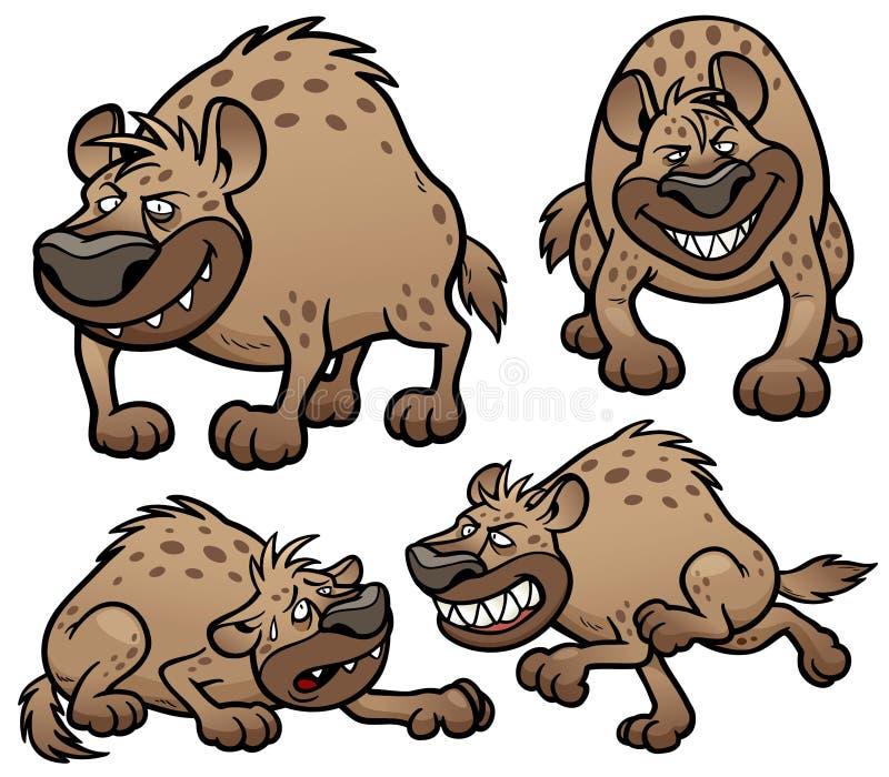 Hyenakarakter vector illustratie