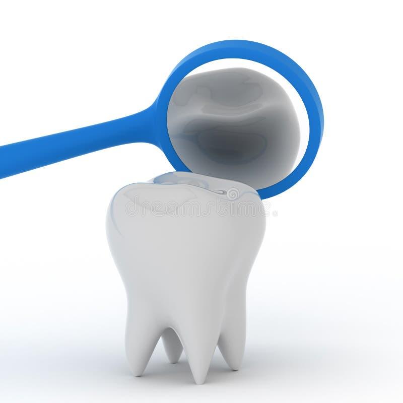 Hygiène dentaire illustration libre de droits