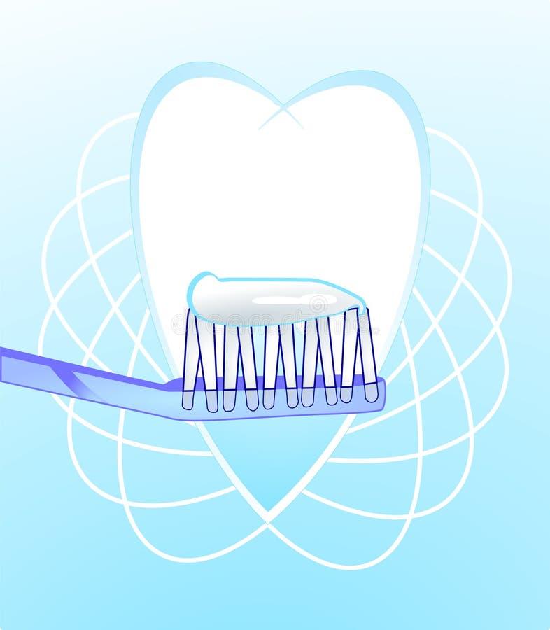 Hygiène dentaire illustration de vecteur