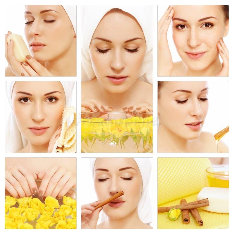 Hygiène et soin de peau photo libre de droits