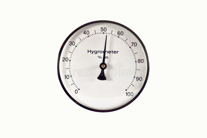Hygrometer stock foto's
