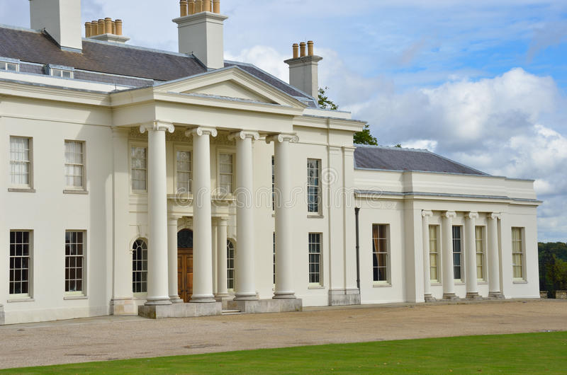 Hylands House Chelmsford. United kingdom royalty free stock image