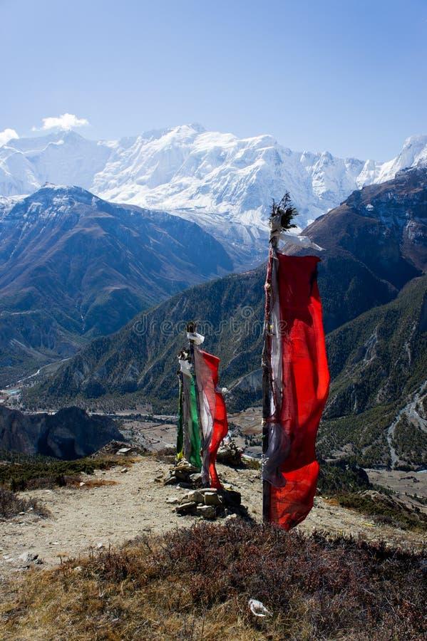 Hymalaya Nepal foto de archivo libre de regalías