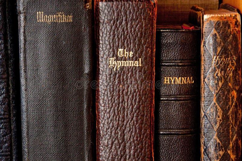 Hymnals antichi fotografia stock libera da diritti