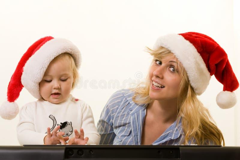 Hymnes de louange de Noël photos libres de droits