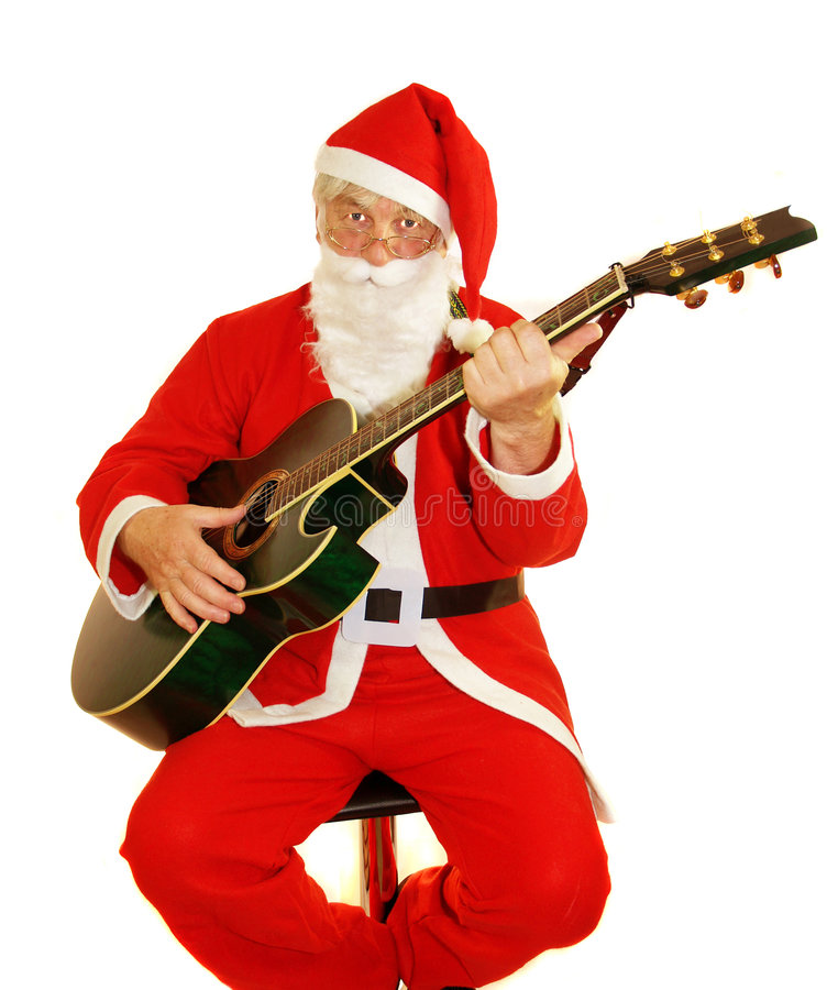 Hymnes de louange de Santa images stock