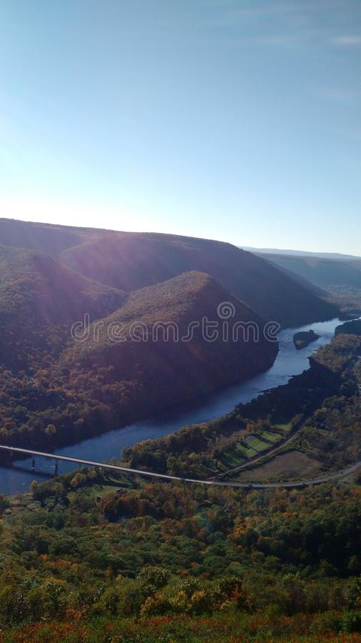Hyner Mountain View photo stock