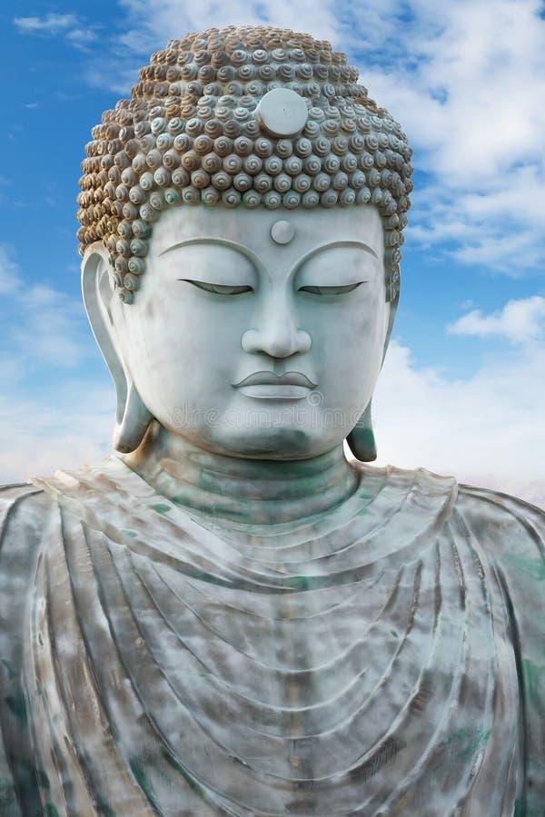Hyogo Daibutsu - il grande Buddha al tempio di Nofukuji a Kobe immagini stock