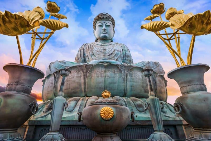 Hyogo Daibutsu - il grande Buddha al tempio di Nofukuji a Kobe fotografie stock libere da diritti