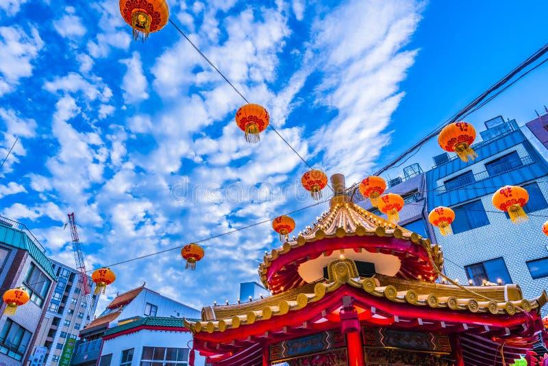 Hyogo, Japon - 23 septembre 2018 : Kobe Chinatown Nankinmachi est un Chinatown compact photos stock
