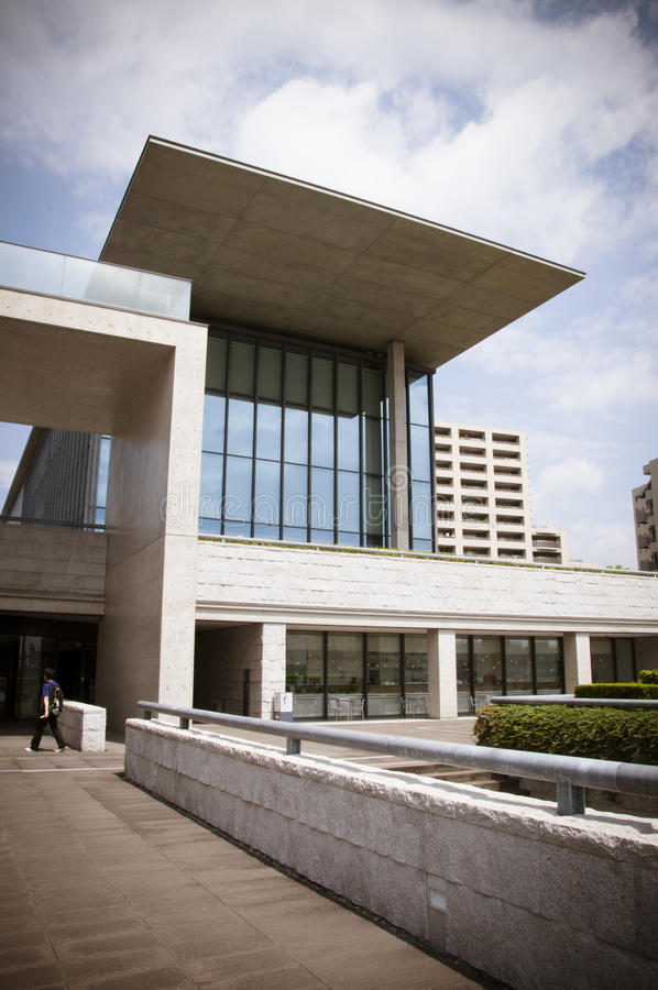 Hyogo Prefectural Museum Of Art Editorial Photography