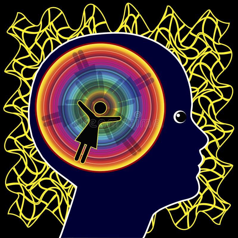 Hyperactivity Disorder vector illustration