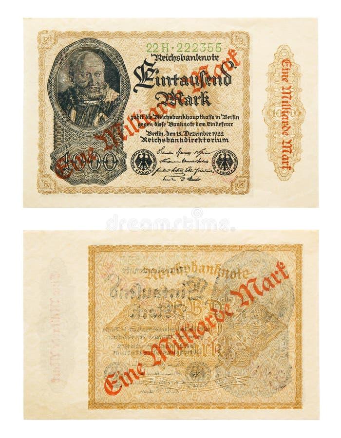 Hyperinflation lizenzfreie stockfotografie