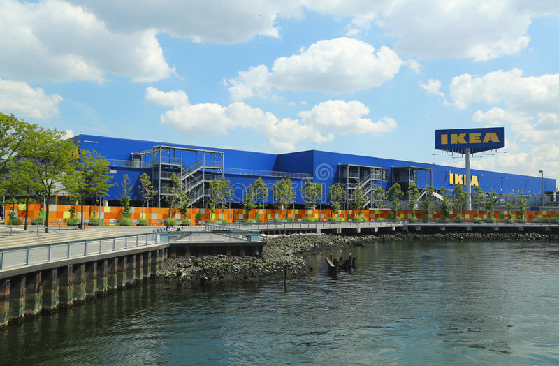 Hypermarché d'IKEA de Brooklyn photo stock