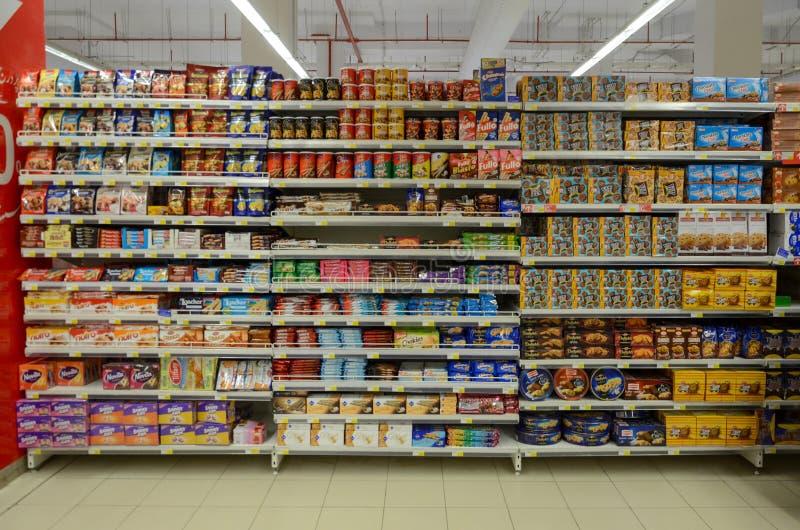 Hyperstar supermarket fotografia stock