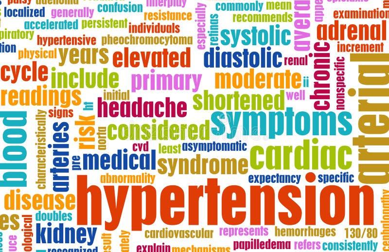 Hypertension illustration libre de droits