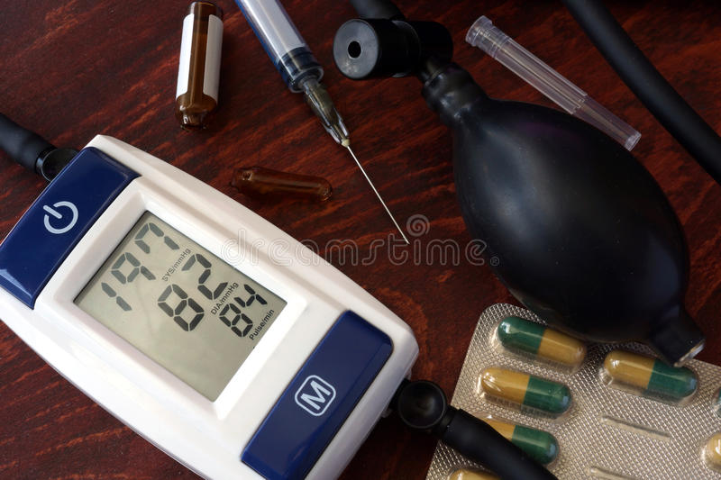 Hypertension concept. royalty free stock images