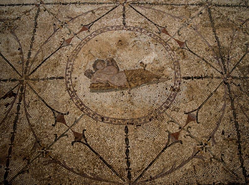 Hypnos - la divinità greca dei sogni fotografia stock libera da diritti
