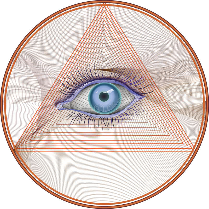 Hypnose vektor abbildung