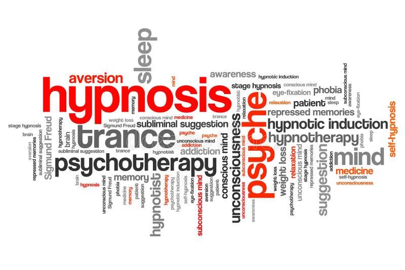 hypnose illustration de vecteur