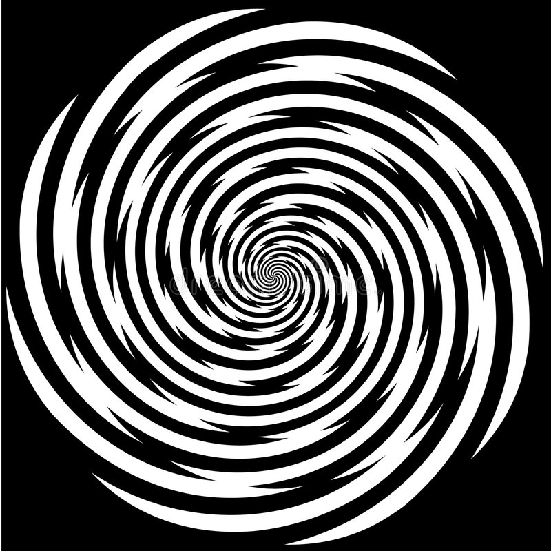 Free Hypnosis Spiral, Stress, Strain, Optical Illusion Royalty Free Stock Photos - 5786768