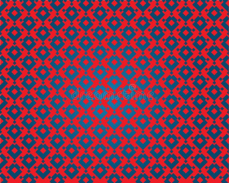 Hypnotic behang royalty-vrije illustratie