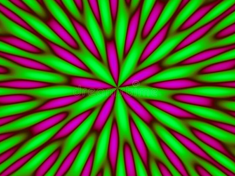 Hypnotic green abstract. A hypnotic green abstract pattern stock photos