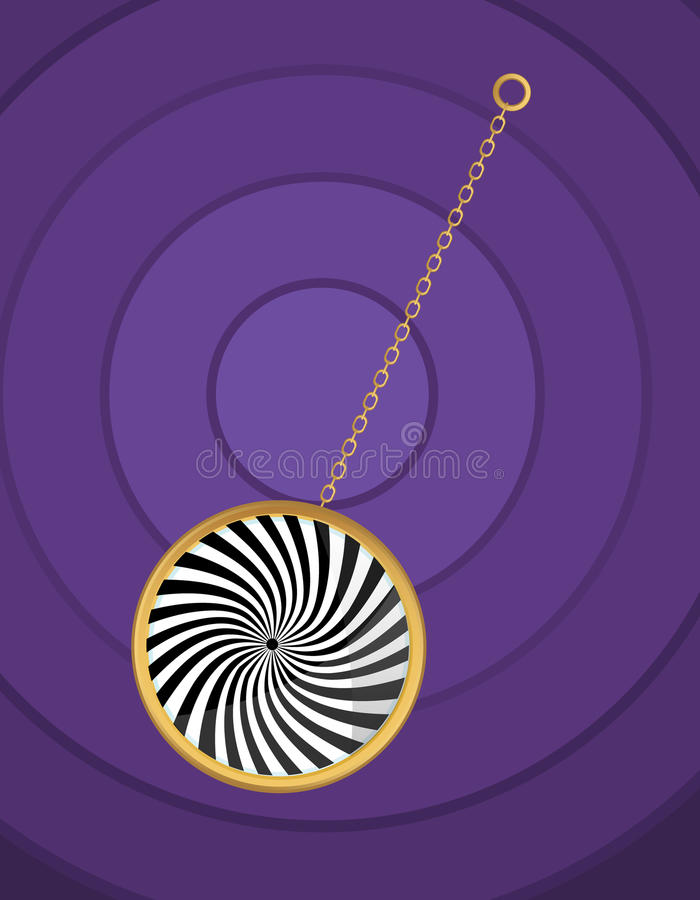 Download Hypnotic pendulum stock vector. Image of hypnotizer, science - 30440406