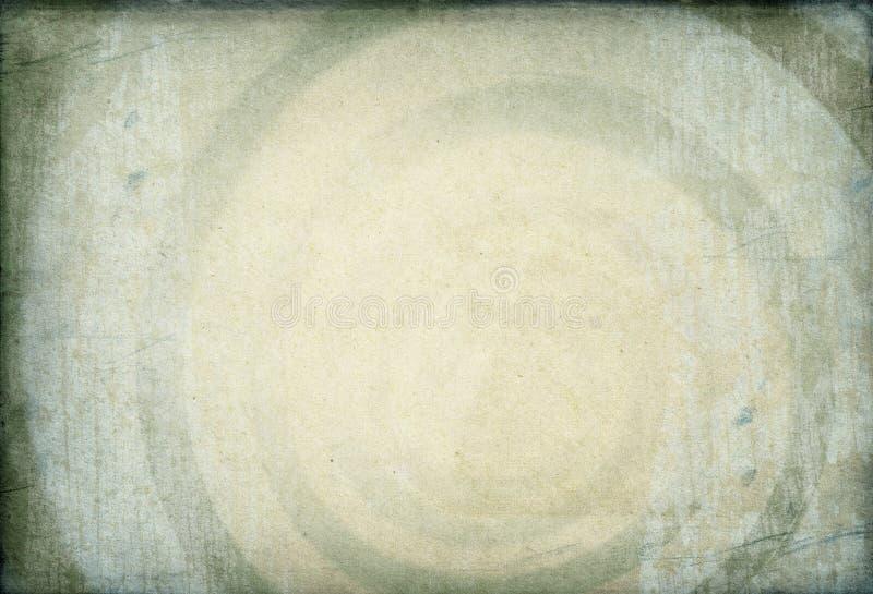 Hypnotic swirling image background. Hypnotic swirling image on vintage paper background royalty free stock photos
