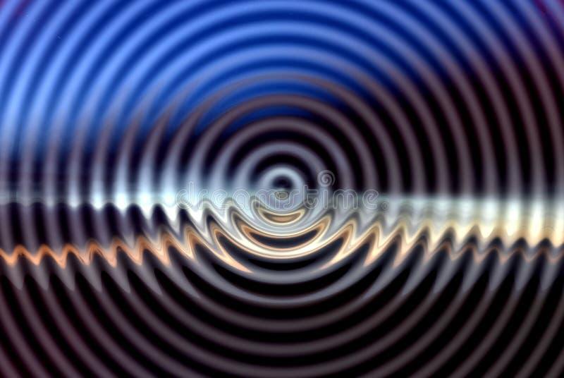 hypnotisk abstrakt bakgrund royaltyfri illustrationer