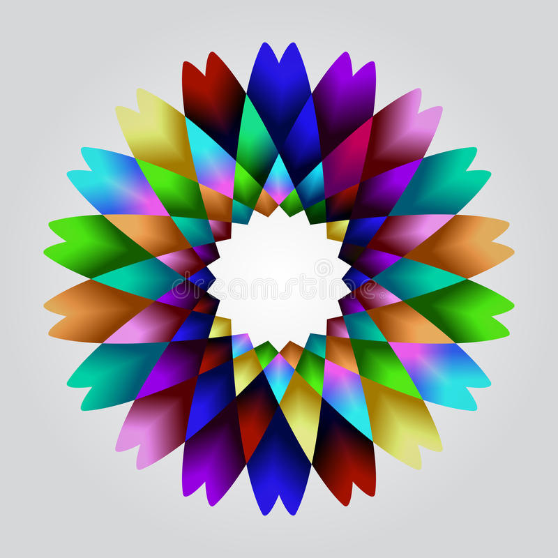 Hypnotizing flower royalty free stock images