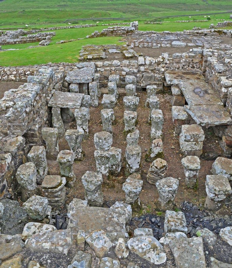 hypocaust римский стоковые фото